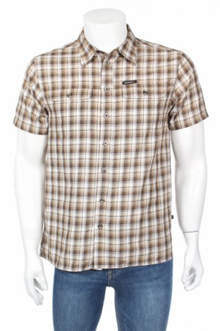 Мъжка риза Icepeak, Размер S, Цвят Кафяв, 90% полиестер, 10% вискоза, Цена 6,15лв.