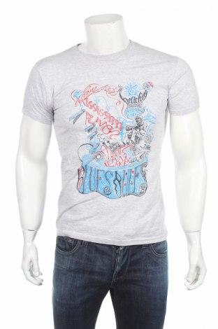 Pánské tričko  Fruit Of The Loom, Rozměr S, Barva Šedá, 97% bavlna, 3% elastan, Cena  65,00Kč