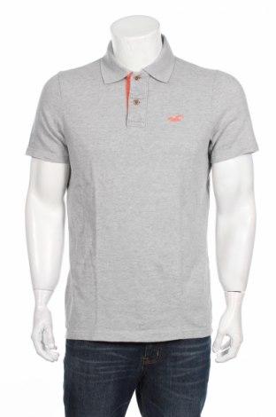 Ανδρικό t-shirt Hollister, Μέγεθος L, Χρώμα Γκρί, Βαμβάκι, Τιμή 5,45€