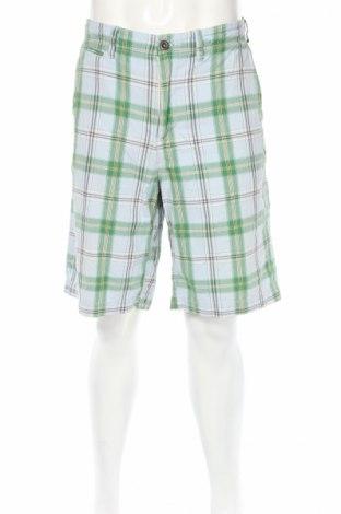 Мъжки къс панталон American Eagle, Размер L, Цвят Многоцветен, Памук, Цена 5,10лв.