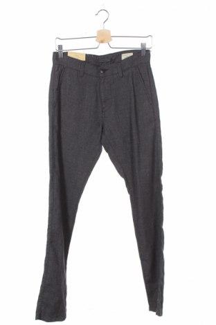 Pánske nohavice  Selected Homme, Veľkosť S, Farba Sivá, 55% ľan, 45% bavlna, Cena  13,46€