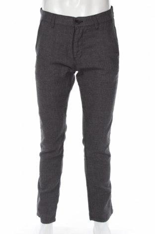 Pantaloni de bărbați Selected Homme, Mărime M, Culoare Gri, 55% in, 45% bumbac, Preț 49,41 Lei