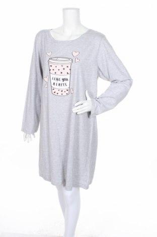 Πιτζάμες Ed.it.ed, Μέγεθος XL, Χρώμα Γκρί, Βαμβάκι, βισκόζη, Τιμή 16,82€