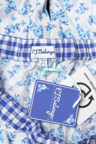 Πιτζάμες P.J. Salvage, Μέγεθος S, Χρώμα Μπλέ, Βαμβάκι, Τιμή 17,29€