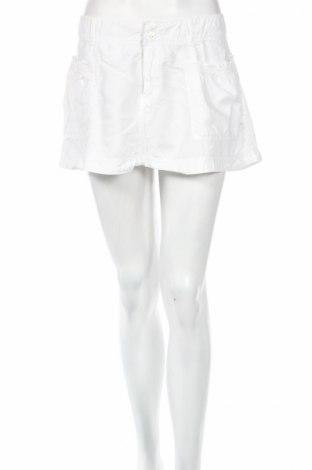 Sukňa Abercrombie & Fitch, Veľkosť L, Farba Biela, 58% ľan, 42% bavlna, Cena  3,86€