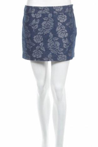 Sukňa Abercrombie & Fitch, Veľkosť S, Farba Modrá, 82% bavlna, 15% polyester, 3% vlákna , Cena  6,06€