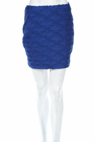 Φούστα Amisu, Μέγεθος M, Χρώμα Μπλέ, 84% πολυεστέρας, 16% ελαστάνη, Τιμή 4,90€