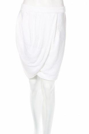 Пола Bcbg Max Azria, Размер S, Цвят Бял, Полиестер, Цена 40,56лв.