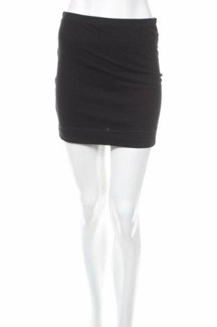 Пола H&M, Размер S, Цвят Черен, 95% памук, 5% еластан, Цена 8,45лв.