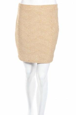 Пола H&M, Размер S, Цвят Златист, Полиестер, Цена 5,46лв.