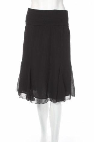 Пола H&M, Размер S, Цвят Черен, 100% полиестер, Цена 7,18лв.