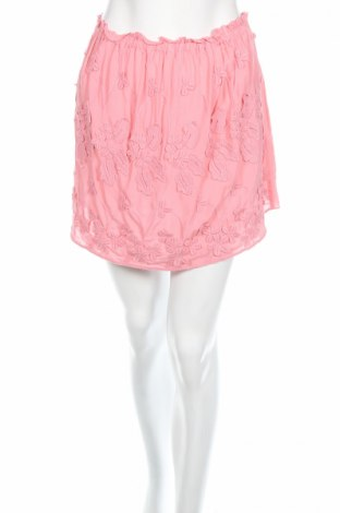 Пола H&M, Размер S, Цвят Розов, Вискоза, Цена 5,00лв.