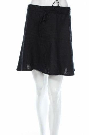 Пола H&M, Размер S, Цвят Черен, Лен, Цена 6,25лв.