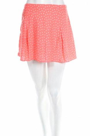 Пола H&M Divided, Размер M, Цвят Розов, Вискоза, Цена 6,05лв.