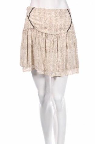 Φούστα Ikks, Μέγεθος M, Χρώμα  Μπέζ, Βισκόζη, Τιμή 8,57€