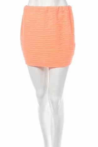 Пола Tally Weijl, Размер M, Цвят Розов, 98% полиестер, 2% еластан, Цена 4,56лв.