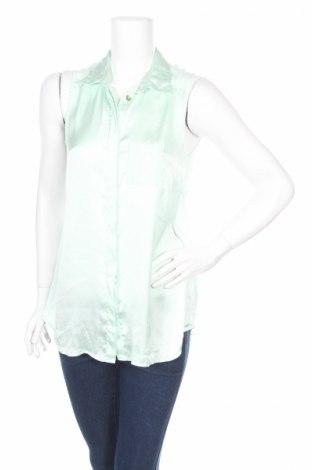 Γυναικείο πουκάμισο εγκυμοσύνης H&M Mama, Μέγεθος S, Χρώμα Πράσινο, 100% πολυεστέρας, Τιμή 3,53€