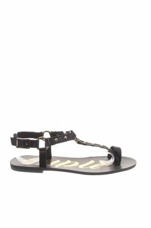 Sandále Cuple, Veľkosť 37, Farba Čierna, Pravá koža , Cena  26,81€