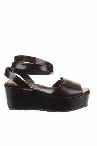 Sandály  Maje, Veľkosť 39, Farba Hnedá, Pravá koža , Cena  83,17€
