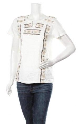 Дамска блуза Anany, Размер S, Цвят Бял, Памук, Цена 19,22лв.