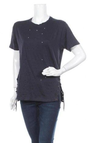 Дамска блуза Brave Soul, Размер M, Цвят Син, Памук, Цена 8,00лв.