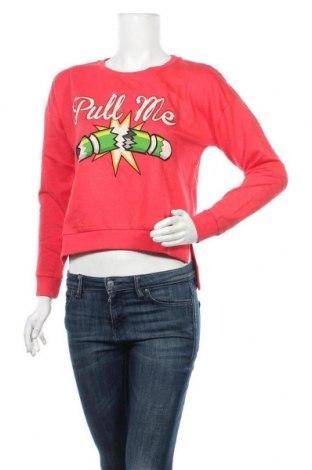 Дамска блуза Brave Soul, Размер S, Цвят Червен, 61% памук, 39% полиестер, Цена 11,23лв.