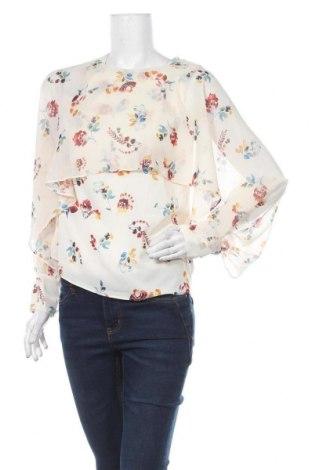 Дамска блуза Cortefiel, Размер XS, Цвят Бежов, Полиестер, еластан, Цена 9,72лв.