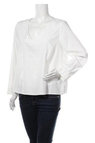 Дамска блуза Cortefiel, Размер XL, Цвят Бял, 97% полиестер, 3% еластан, Цена 36,75лв.