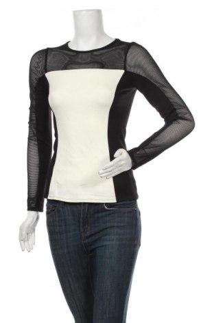 Дамска блуза Karen Millen, Размер M, Цвят Черен, 69% вискоза, 25% полиамид, 3% еластан, Цена 121,91лв.