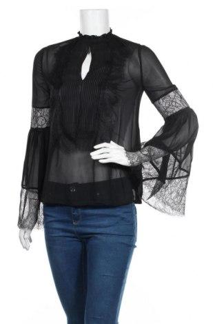 Дамска блуза Marciano, Размер S, Цвят Черен, Полиестер, Цена 50,70лв.