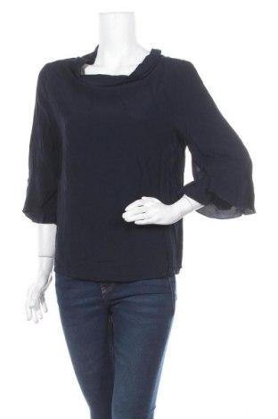 Дамска блуза One More Story, Размер S, Цвят Син, Вискоза, Цена 3,32лв.