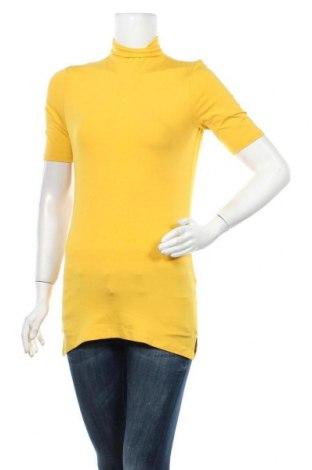 Дамска блуза Rich & Royal, Размер XS, Цвят Жълт, 96% вискоза, 4% еластан, Цена 18,50лв.