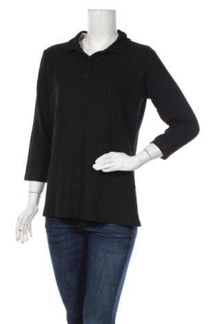 Дамска блуза Vrs Woman, Размер XL, Цвят Черен, Цена 10,71лв.