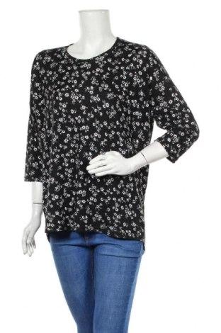 Дамска блуза Vrs Woman, Размер L, Цвят Черен, 95% полиестер, 5% еластан, Цена 13,97лв.