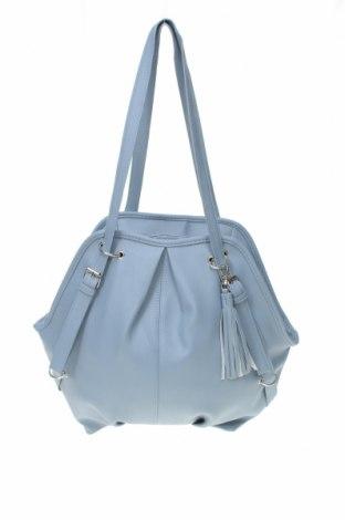 Γυναικεία τσάντα, Χρώμα Μπλέ, Δερματίνη, Τιμή 16,37€