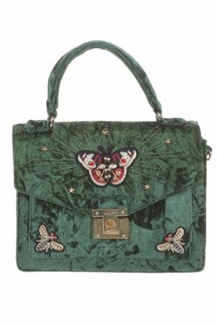 Γυναικεία τσάντα Aldo, Χρώμα Πράσινο, Κλωστοϋφαντουργικά προϊόντα, Τιμή 23,38€