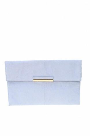 Дамска чанта Dorothy Perkins, Цвят Син, Текстил, Цена 25,88лв.