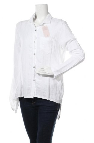 Дамска риза, Размер L, Цвят Бял, Памук, Цена 9,19лв.