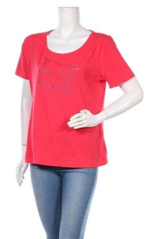 Tricou de femei Escada, Mărime XL, Culoare Roz, 92% bumbac, 8% elastan, Preț 133,22 Lei