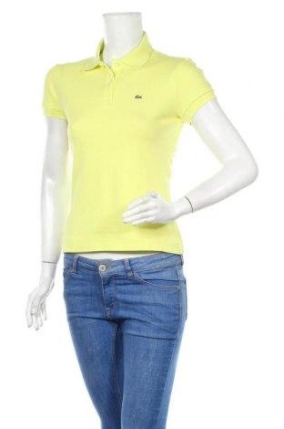 Dámské tričko Lacoste, Velikost M, Barva Žlutá, Cena  447,00Kč
