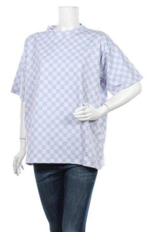 Дамска тениска NEW girl ORDER, Размер M, Цвят Лилав, 63% полиестер, 37% памук, Цена 13,85лв.