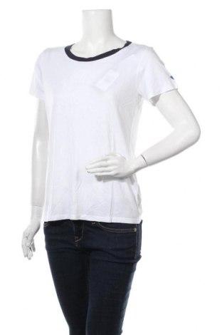 Tricou de femei Teddy Smith, Mărime L, Culoare Alb, 100% viscoză, Preț 50,52 Lei