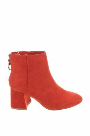 Dámské boty  Pull&Bear, Velikost 35, Barva Červená, Textile , Cena  129,00Kč