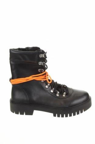 Dámské boty  Pull&Bear, Velikost 39, Barva Černá, Eko kůže, Cena  504,00Kč