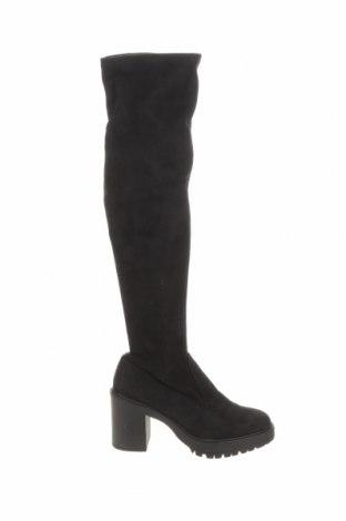 Dámské boty  Pull&Bear, Velikost 41, Barva Černá, Textile , Cena  545,00Kč