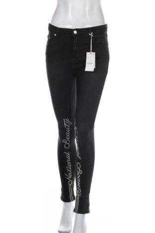 Дамски дънки, Размер M, Цвят Черен, 98% памук, 2% еластан, Цена 18,90лв.
