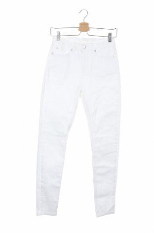 Дамски дънки, Размер XS, Цвят Бял, Цена 14,22лв.