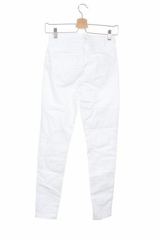 Дамски дънки, Размер XS, Цвят Бял, Цена 14,24лв.