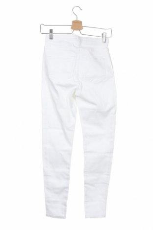 Дамски дънки, Размер XS, Цвят Бял, Цена 25,48лв.