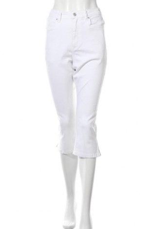 Дамски дънки, Размер L, Цвят Бял, Цена 18,87лв.